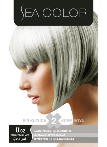 Sea Sea Color 2 Li Saç Boyası 0/02 Gri